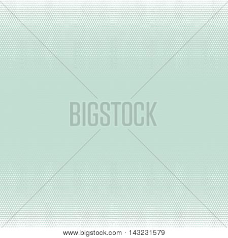 Seamless geometric vector pattern. Modern ornament with dotted elements. Light blue and white pattern