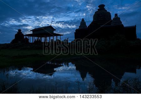 Htukkanthein, One Of The Most Famous Temples In The Ancient Arakanese City Of Mrauk U, In Rakhine St