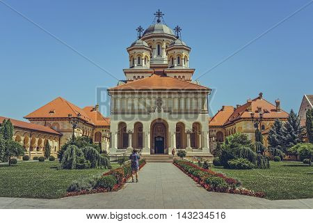 Coronation Cathedral, Alba Iulia, Romania