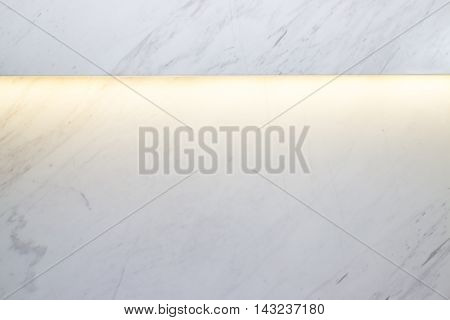 White marble texture background with rim light