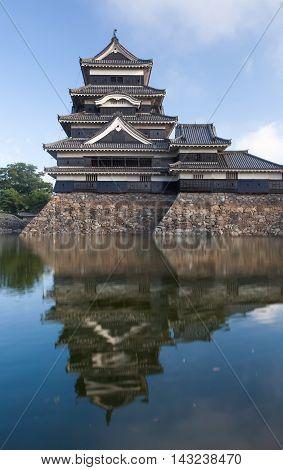 Japan castle Matsumoto Castle One of Japan's premier historic castles