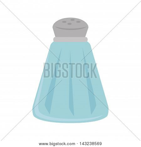 salt shaker bottle sodium food ingredient salty vector illustration