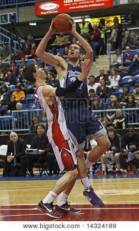 Basketball Boys Two Players