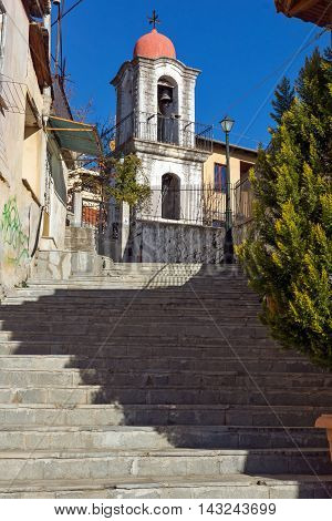 old orthodox church in old town of Xanthi, East Macedonia and Thrace, Greece