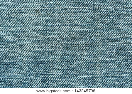 Abstract Blue Jeans Texture.