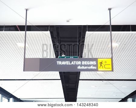 Light box sign