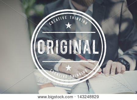 Original Copyright Genuine Patent Brand Graphic Concept