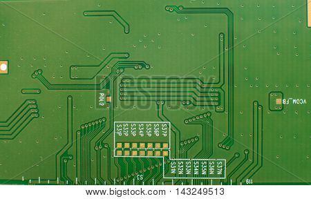 Printed-circuit board- It is photographed by close up
