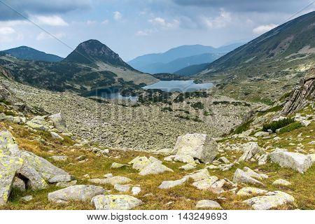 Amazing Landscape of Gergiyski lakes,  Pirin Mountain, Bulgaria