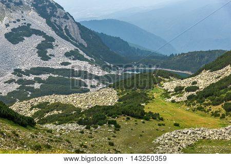 Amazing View of  Sinanitsa lake,  Pirin Mountain, Bulgaria
