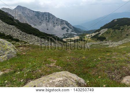 Amazing View of  Sinanitsa peak and  lake,  Pirin Mountain, Bulgaria