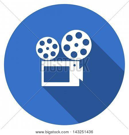 movie vector icon