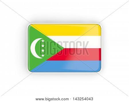 Flag Of Comoros, Rectangular Icon