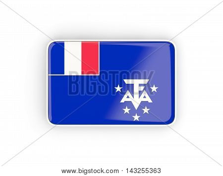 Flag Of French Southern Territories, Rectangular Icon