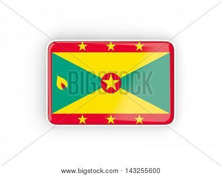 Flag Of Grenada, Rectangular Icon