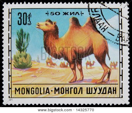 post stamp with animal