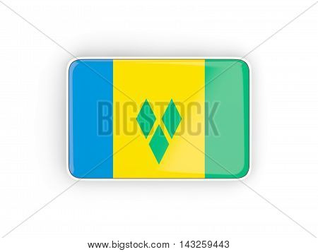 Flag Of Saint Vincent And The Grenadines, Rectangular Icon