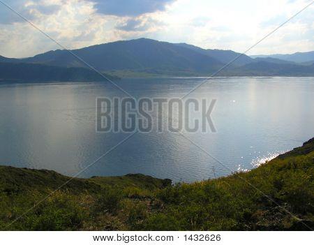 Lake In East Kazakhstan