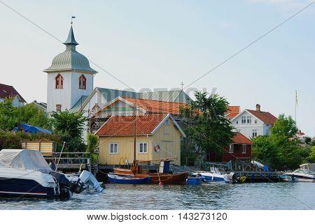 West coast village in Sweden, travel Sweden