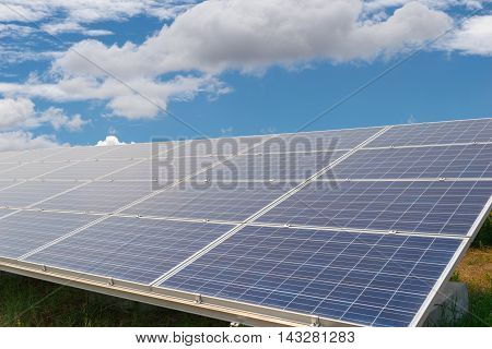 Solar energy panels Photovoltaic for generate green energy