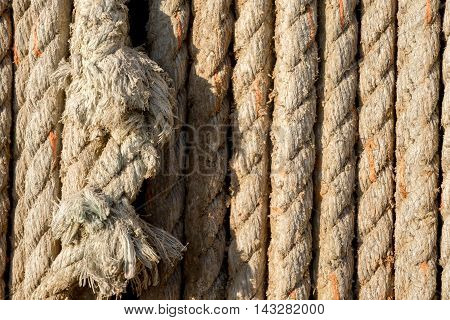 Spliced Rope Of Natural Fibre