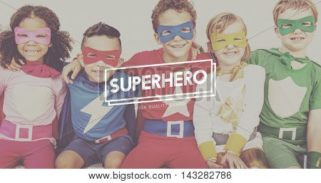 Superhero Courageous Idol Inspiration Protector Concept