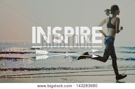 Inspire Motivation Aspirations Inspiration Influencing Concept