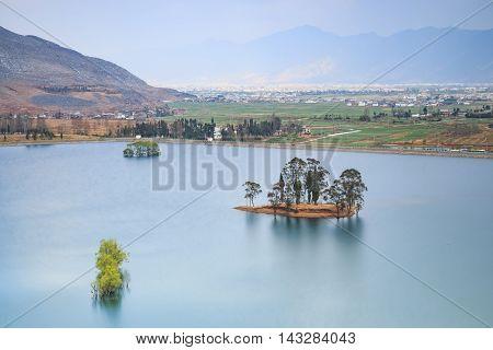 Yellow Dragon Pond long exposure in Heqing Yunnan