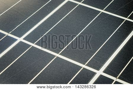 Shiny Rustic old Solar Cell power panel