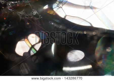 Abstraction Of Soap Bubbles