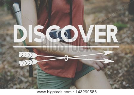 Discover Adventure Traveling Exploration Journey Concept