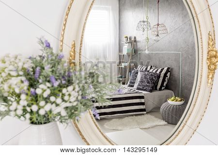 Bedroom With Touch Of Luxury