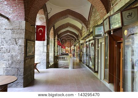 Koza Han In Bursa City, Turkey