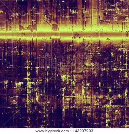 Traditional grunge background, scratched texture with vintage style design and different color patterns: yellow (beige); brown; red (orange); purple (violet); pink