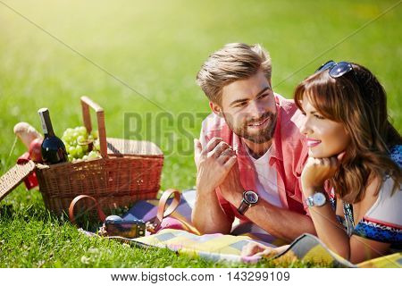 Young Couple Planning Their Future