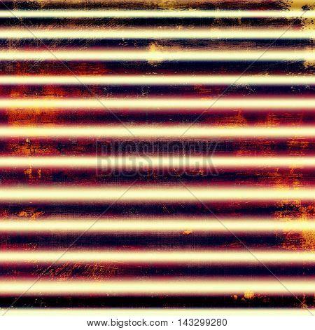 Distressed grunge texture, damaged vintage background with different color patterns: yellow (beige); black; red (orange); purple (violet); white; pink