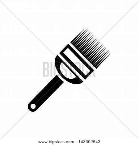 Uncapping fork icon in simple style on a white background