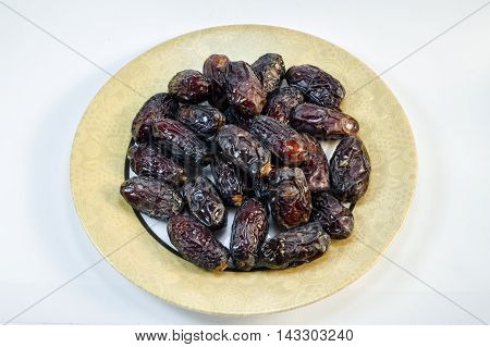 Delicious dates fruits. A healthy dry fruit.