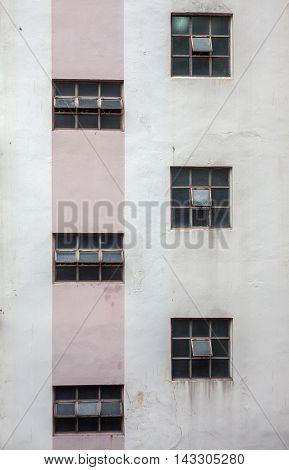 Six Old Windows Frames