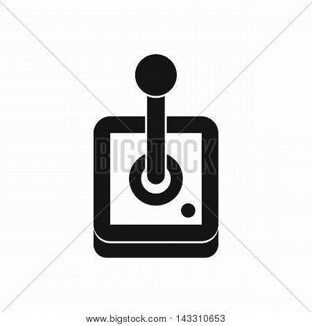 Joystick for computer games icon in simple style on a white background