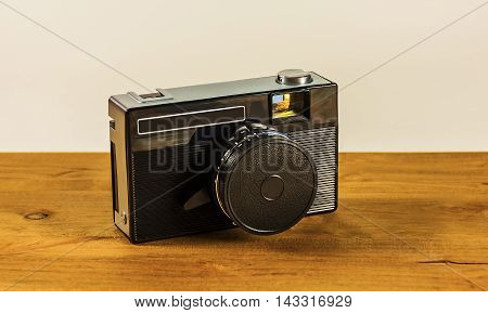 Old camera for taking pictures on film
