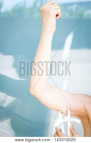 Fat Caliper Measuring Bodyfat