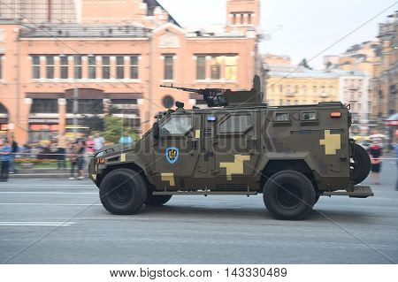 Rehearsals For Military Parade Independence Day In Kiev, Ukraine