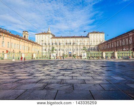 Piazza Castello Turin (hdr)