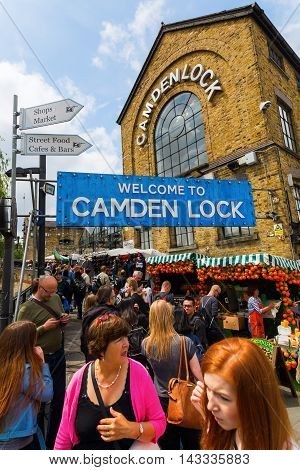 Camden Lock Market, London, Uk