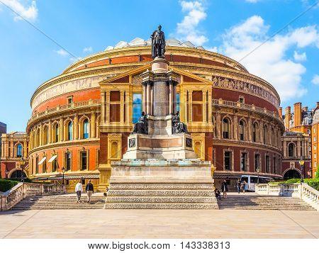 Royal Albert Hall In London (hdr)