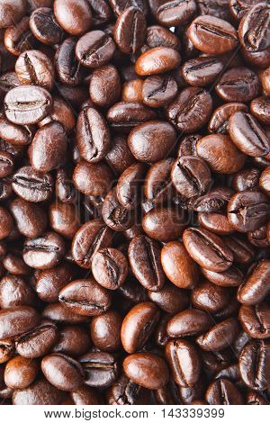 A Background From Delicious And Fragrant Coffee Beans