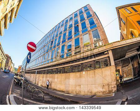 Rai Via Verdi In Turin (hdr)