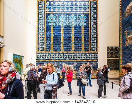 Pergamon Museum In Berlin (hdr)