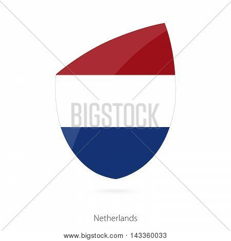 Flag Of Netherlands. Netherlands Rugby Flag.